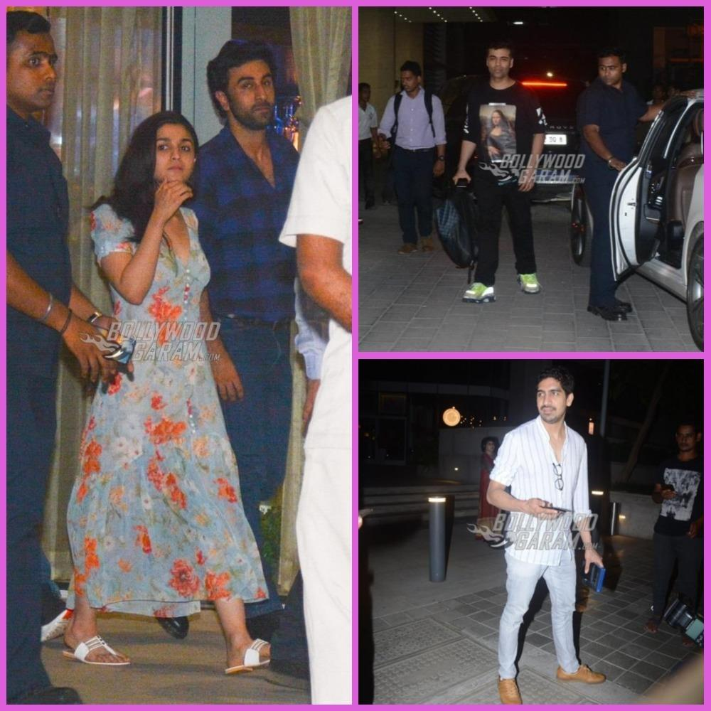 Brahmastra stars Alia Bhatt and Ranbir Kapoor go on a dinner date
