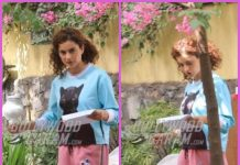 Kangana Ranaut at her casual best on sets of Mental Hai Kya