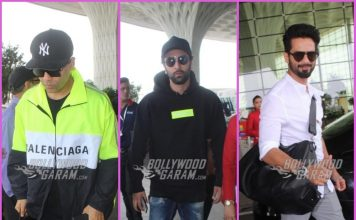 Karan Johar, Ranbir Kapoor and Shahid Kapoor leave for press conference in Delhi