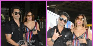 Karan Singh Grover and Bipasha Basu return from wedding anniversary celebrations in Goa