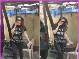 Kareena Kapoor makes a stylish appearance at gym