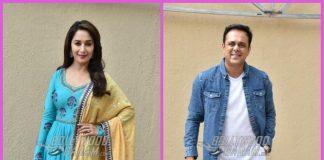 Madhuri Dixit promotes Bucket List with Sumeet Raghavan