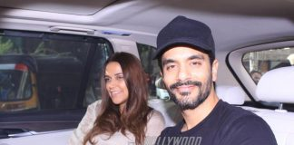 Newly-weds Neha Dhupia and Angad Bedi on a casual outing