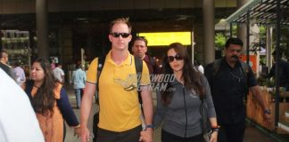 Preity Zinta walks hand in hand with husband Gene Goodenough at airport
