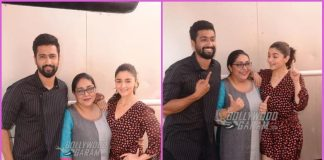 Alia Bhatt, Vicky Kaushal and Meghna Gulzar promote Raazi together