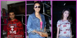 Karan Johar, Urvashi Rautela and others catch special screening of Raazi