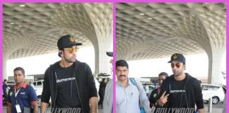 Ranbir Kapoor makes a stylish appearance at airport