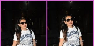 Rani Mukerji all smiles as she returns from London