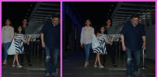 Rishi Kapoor and Neetu Kapoor spend time with daughter and granddaughter