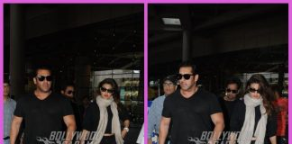 Salman Khan and Jacqueline Fernandez return from song shoot in Kashmir