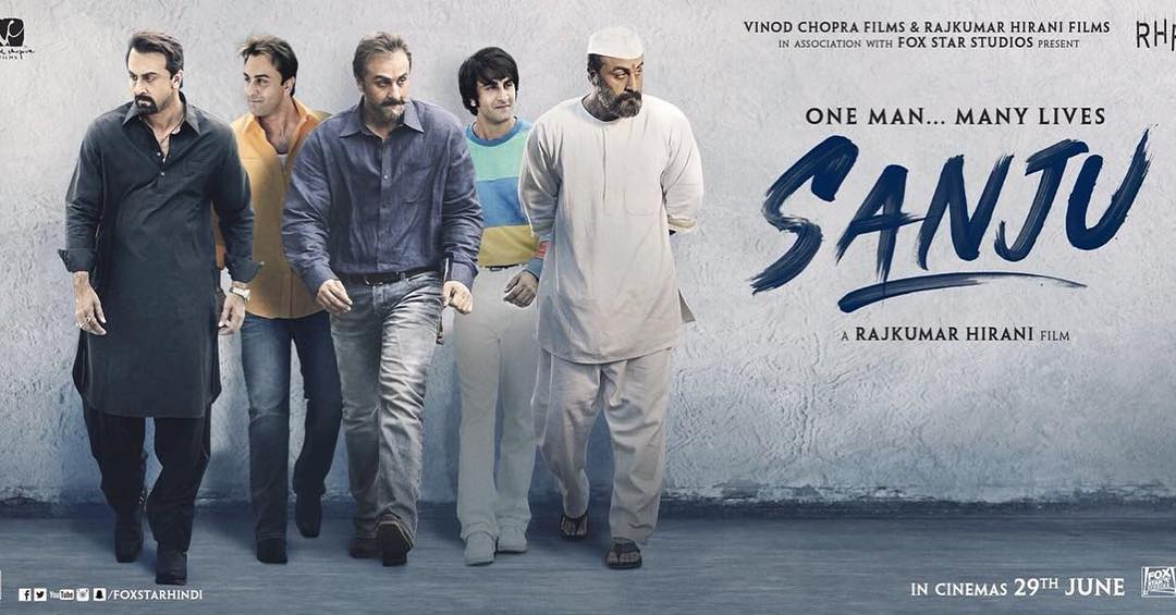 Sanju New Poster Released, Ranbir Kapoor Featured In Prisoner Look!