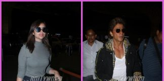 Shah Rukh Khan and Parineeti Chopra leave on their respective work schedules