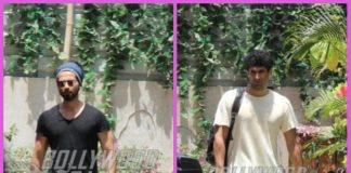 Shahid Kapoor and Aditya Roy Kapur look dapper post gym workout