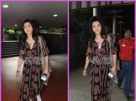 Shruti Haasan looks gorgeous as she returns from London