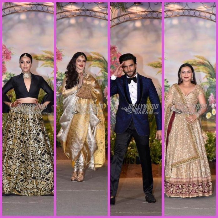Sonam and anand ahuja reception