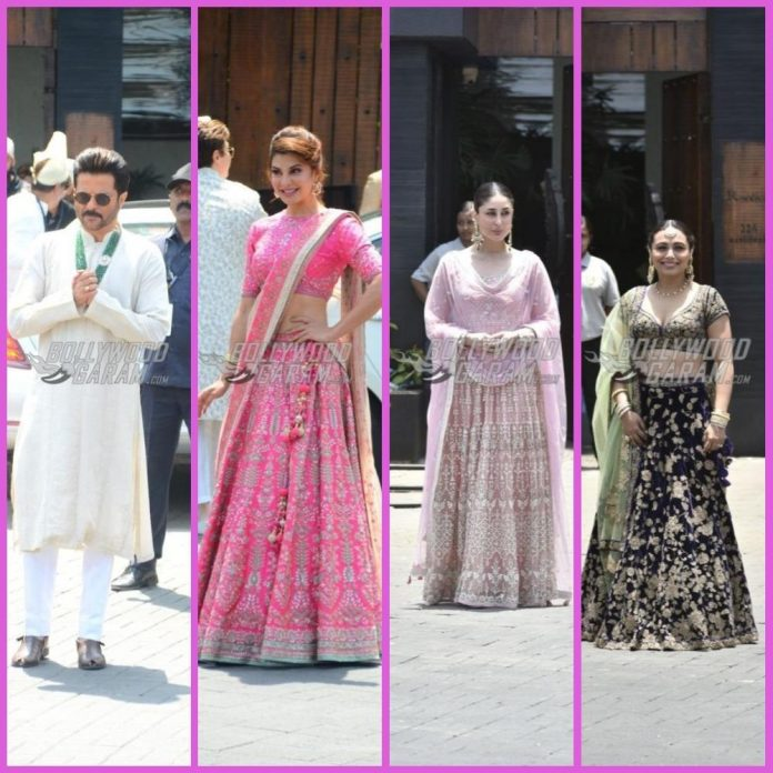 Sonam kapoor wedding guests