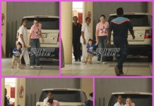 Taimur Ali Khan rushes to pose for paparazzi as mother Kareena Kapoor pulls him back