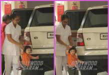 Taimur Ali Khan visits grandmother Babita Kapoor