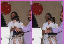 Taimur Ali Khan sports a cute bun at playschool