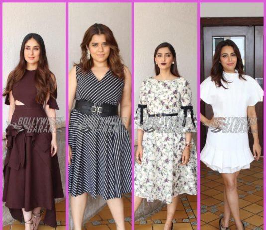 Kareena Kapoor, Sonam Kapoor, Swara Bhaskar and Shikha Talsania get back to Veere DI Wedding promotions