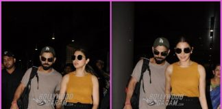 Anushka Sharma and Virat Kohli return from Bengaluru