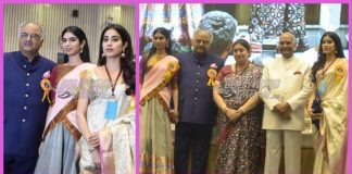 Janhvi Kapoor, Khushi Kapoor and Boney Kapoor receive Sridevi's Award at 65th National Awards