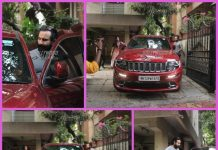 Saif Ali Khan and Sara Ali Khan visit Abhishek Kapoor's office
