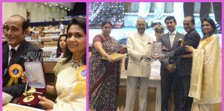 Akshaye Khanna and Kavita Daftari receive Vinod Khanna's Dadasaheb Phalke Award