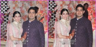 Akash Ambani and Shloka Mehta shine in traditional outfits