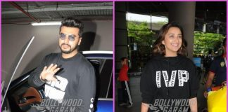 Arjun Kapoor and Parineeti Chopra return from London