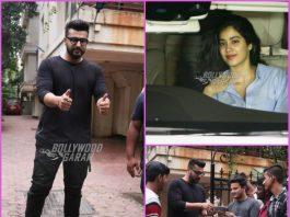 Janhvi Kapoor, Varun Dhawan and Badshah wish Arjun Kapoor on his 33rd birthday