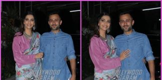 Sonam Kapoor and Anand Ahuja watch Bhavesh Joshi Superhero together