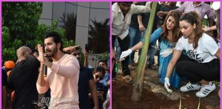 Varun Dhawan, Jacqueline Fernandez and Daisy Shah promote World Environment Day