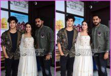 Ishaan Khatter, Janhvi Kapoor and Shashank Khaitan promote Dhadak in Jaipur