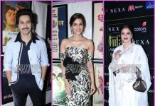 Varun Dhawan, Rekha, Kriti Sanon and others at IIFA press event