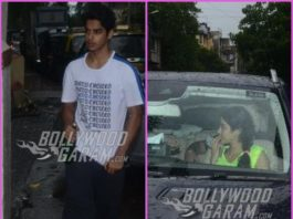 Ishaan Khatter and Janhvi Kapoor visit Matrix office together