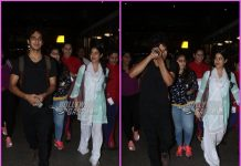 Janhvi Kapoor and Ishaan Khatter return from Jaipur