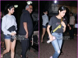 Janhvi Kapoor, Khushi Kapoor and Boney Kapoor celebrate Arjun Kapoor's birthday
