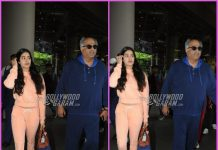 Janhvi Kapoor, Boney Kapoor and Khushi Kapoor return from London holiday