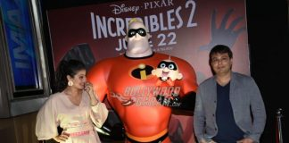 Kajol promotes Hindi dubbed Incredibles 2