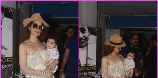Kangana Ranaut spends time with nephew Prithvi