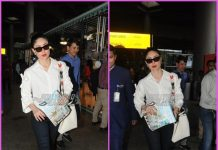 Kareena Kapoor returns solo from London