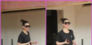 Kareena Kapoor hits the gym in style