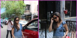 Mira Rajput flaunts baby bump on a casual outing