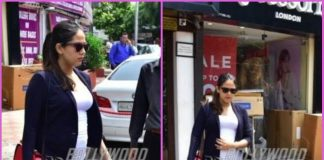 Mira Rajput goes stylish with her growing baby bump