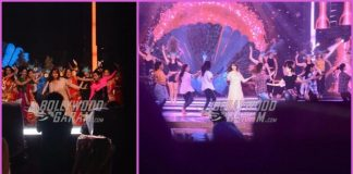 Madhuri Dixit, Kareena Kapoor and Jacqueline Fernandez rehearse for Femina Miss India