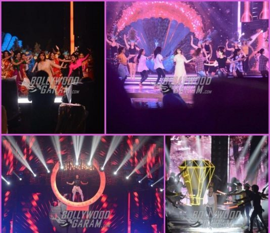 Madhuri Dixit, Kareena Kapoor and Jacqueline Fernandez rehearse for Femina Miss India