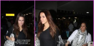 Neha Dhupia on a travel schedule with mother