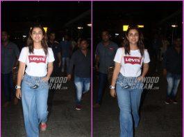 Parineeti Chopra returns from a short holiday at Goa