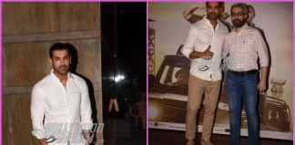 John Abraham graces success bash of Parmanu: The Story Of Pokhran